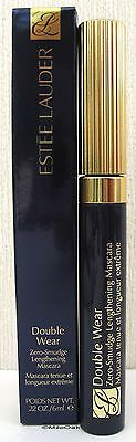 Estee Lauder Double Wear Zero Smudge Lengthening Mascara - 6ml - Black - 01 BNIB
