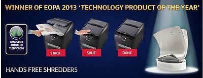 Rexel Hands Free Time Saving Automatic Feed Quiet Bulk Paper Office Shredder