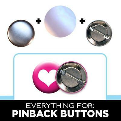 "1.25"",1.5"",1.75"" Button parts for Pin Maker Badge Machine pinback 100 500 1000"