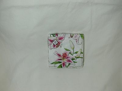 Mesafina ''tiger Lilly''  White  Cocktail 20 Paper Napkins-New