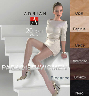 "Top Quality Tights Adrian ""ELEGANC"" 20 Denier ,Sheer Matt , Available Size S-XL"