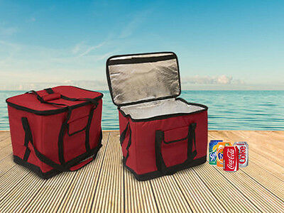 30 Litre Cool Bag 60 Can Insulated Extra Large Cooler Collapsible Picnic Camping