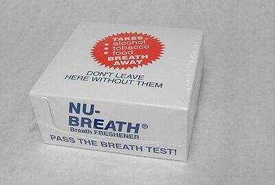 NuBreath Nu Breath Newbreath Herbal Mints