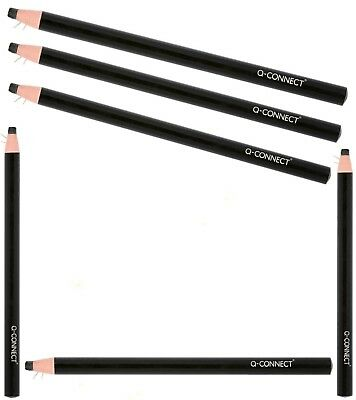 China Pencils Black Chinagraph Markers Write On Glass Ceramic Glossy Surfaces