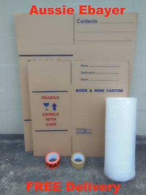 Moving Boxes & Packing Materials Cardboard Removalist Packaging
