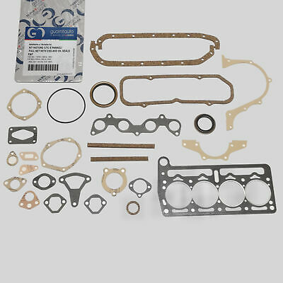 Fiat 850 1° Serie 2° Berlina Special Coupe Kit Guarnizione Motore Kit Completo