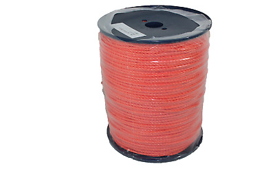 500 m Polypropylenseil 5mm Orange Kordel Seil Tauwerk Boot Garten Polypropylen