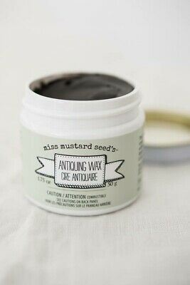 Miss Mustard Seed's - Antiquing Wax - 1.75 oz. - antique furniture painting DIY