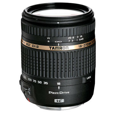 Tamron 18-270mm f/3.5-6.3 Di II VC PZD AF Lens AFB008C-700 18-270 mm for Nikon