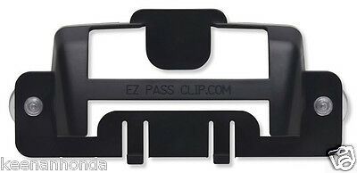 Black MINI - EZ-Pass Clip Electronic Toll Tag Holder for the New Small E-ZPass
