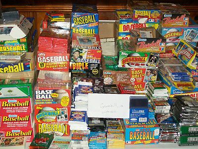 Unopened Baseball Card Packs!  1,000 cards!