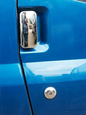 Chrome Stainless Steel 4 Door Handle Covers for Ford Transit MK6 & MK7 (00-14)