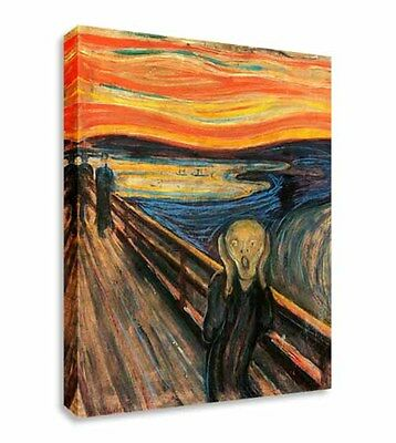 The Scream - Edvard Munch Canvas Wall Art Picture Canvas Art Cheap Print