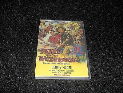 PERILS OF THE WILDERNESS CLIFFHANGER SERIAL 15 CHAPTERS 2 DVDS