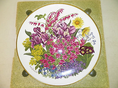 Vtg Franklin Mint Flowers Of The Year Le Fine Bone China May Plate