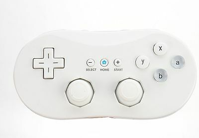 Cute White VIDEO PC Game Remote Controller Consoles for Nintendo Wii Classic HOT