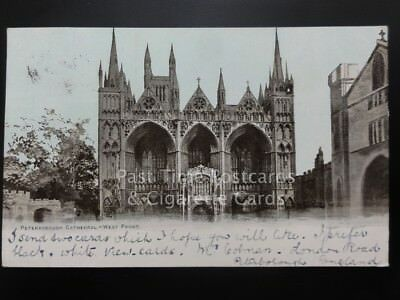Peterborough Cathedral - West Front c1905