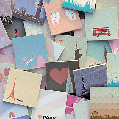 City View Sticker Post It Bookmark Marker Memo Flags Index Pad Tab Sticky Notes