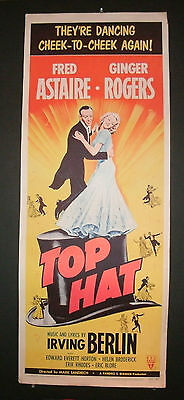 Top Hat - Fred Astaire Ginger Rogers Original 1953 Rerelease!