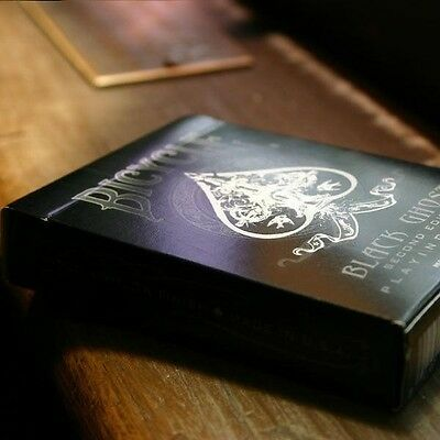 Bicycle Black Ghost Playing Cards 2Nd Edition Sealed