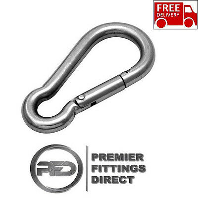 316 Stainless Steel Climbing Carabiner For Climbing And Hiking