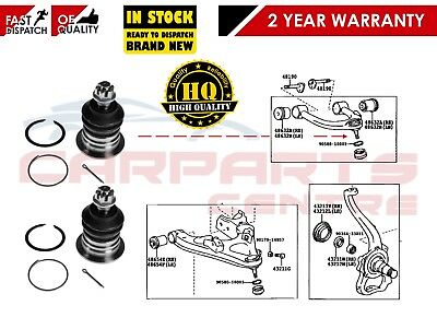 For Toyota Landcruiser Amazon Gx Vx 2 Front Suspension Upper Arm Top Ball Joints