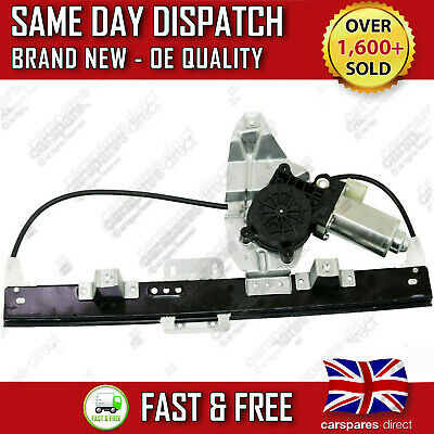 Land Rover Freelander Rear Right Driver Side Window Regulator With 2 Pin Motor
