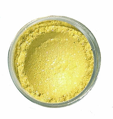 Buttercup Yellow Cosmetic Mica Powder for Soap/Bath Bombs/Nail Art/Candles