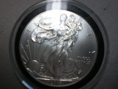 American Eagle Coin, .999 Silver Gem BU Uncirculated, 2013, encased, 1 troy OZ