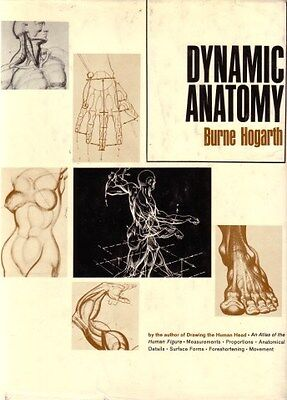 Dynamic Anatomy di Burne Hogart – In lingua Inglese