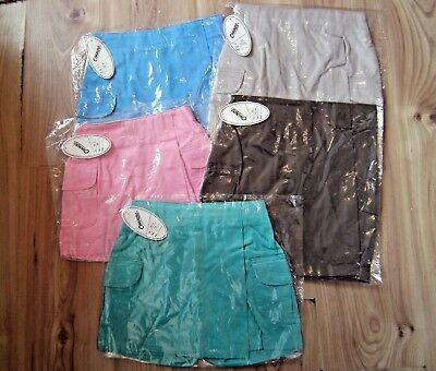Girls Kid Children Youth Junior Sport Skort Skirt Hockey,Tennis,Netball School