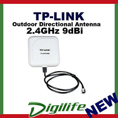TP-Link TL-ANT2409B 2.4GHz 9dBi Outdoor Yagi-directional Antenna N-type Female