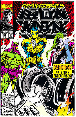Marvel Comics IRON MAN 1992 #285 VF/NM West Coast Avengers