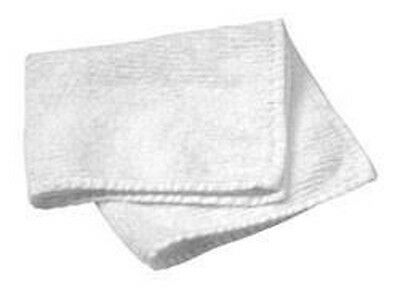 White Terry Cloth Towels (Hand, Face and Bath)
