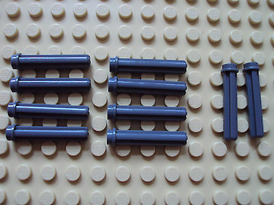 LEGO Lot of 20 Dark Bluish Gray 3 Length Technic Axle Pieces with Stop