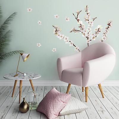 26 New DOGWOOD FLOWERS WALL DECALS Tree Branches Room Stickers Floral Home Decor