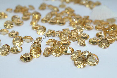 1000pcs Champagne Diamond Confetti Wedding Party Table Scatters 4 CARAT 10mm