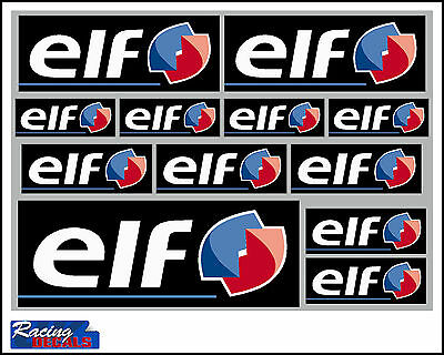 ELF decal set 12 quality printed and laminated stickers free delivery