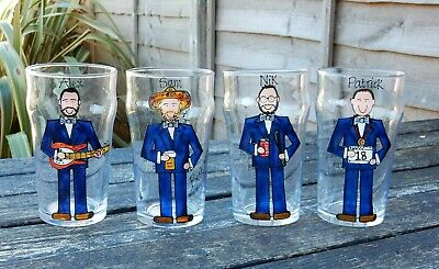 Personalised Painted Best Man Groom Usher Groomsman wedding gift favour glass