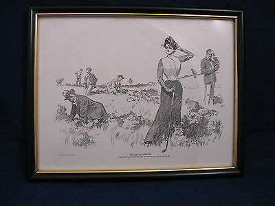 Vintage 1900 Victorian Advice To Caddies