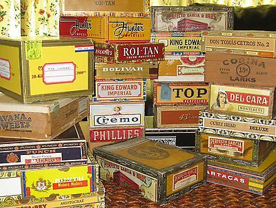 Stamps WorldWide - Cigar Box w/3,000++ (1870's to 1970's)