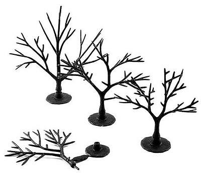 Woodland Scenics TR1121 - 57 Deciduous Tree Armatures Plastic Kit - T48 Post