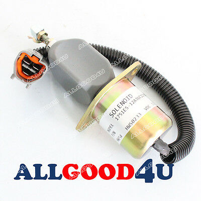 Fuel Solenoid Stop SA-4673-S for Yanmar 4NTE94 Engine on Mini Excavator Tractor