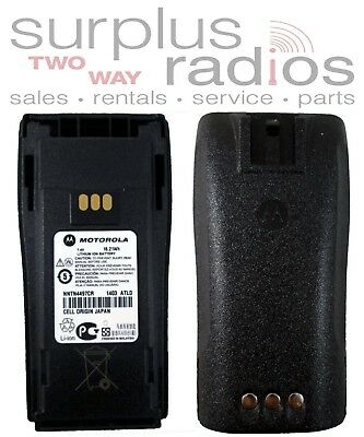 NEW OEM MOTOROLA BATTERY NNTN4497CR CP200XL CP150 PR400 CP200 LI-ION 2250mAh