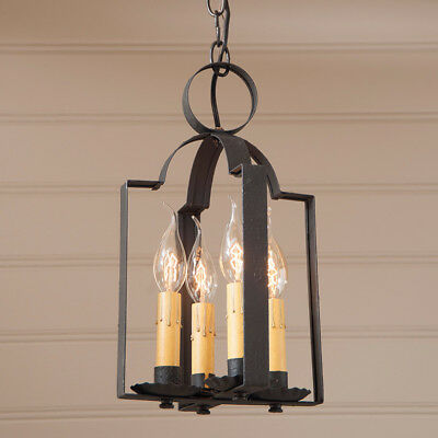 Hartford Double Saddle Light/pendant Light/primitive Country Ceiling Light