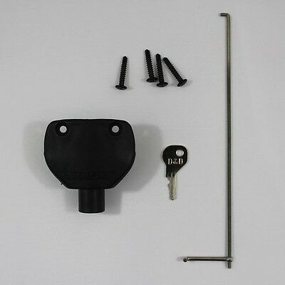 D&D Lokk Latch LLB External Access Kit For Square Post To Suit LLAA Gate Lock