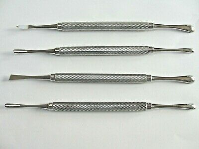 Periosteal elevators x 4  specialist ,dental,  surgical , implants, top quality