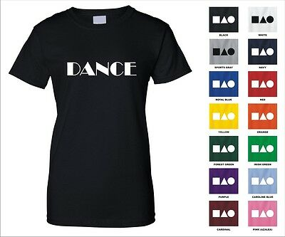 Dance Performing Arts Music Passion Genres Life Hollywood Funny Woman's T-shirt