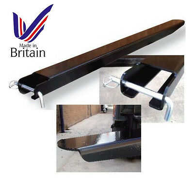 Fork Lift Fork Extensions - Top Quality British Made - Many sizes available