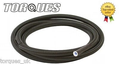 "AN -10 (-10 AN JIC-10) 9/16"" NYLON Braided PTFE / Teflon Fuel Hose 1m"